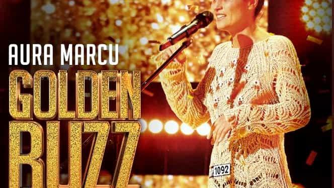 Aura Marcu, Golden Buzz la Românii au Talent. Concurenta are o poveste de viață impresionantă