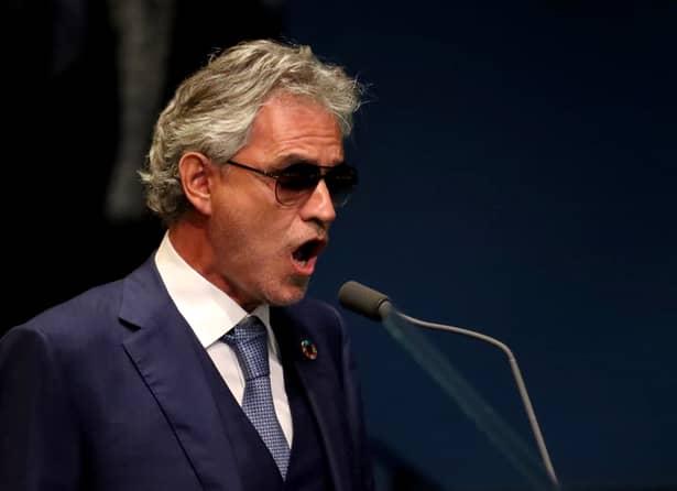 Cum a orbit Andrea Bocelli