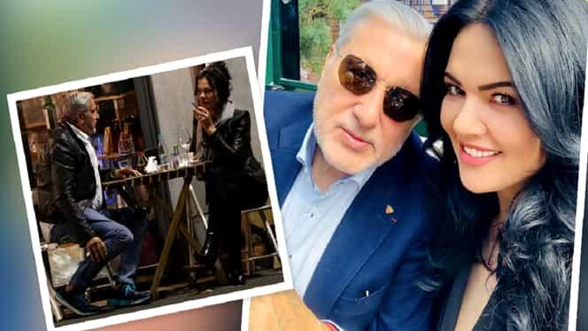 """Ilie Năstase și Ioana, împăcare presărată cu un conflict cu niște reporteri: """"Unu ți-ar rupe fața! Ai noroc"""""""
