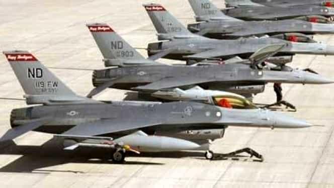 Avioane militare româneşti, TRIMISE să intercepteze aeronave ruseşti care s-au apropiat de România