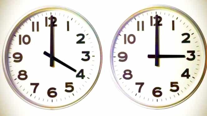Ora de iarnă 2019. În octombrie, dăm ceasurile înapoi. Din 2021, ora nu se va mai schimba