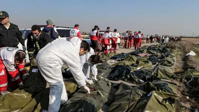 Avionul ucrainean prăbuşit în Iran, lovit de o rachetă antiaeriană! Înregistrare video șocantă. Imagini cu puternic impact emoțional