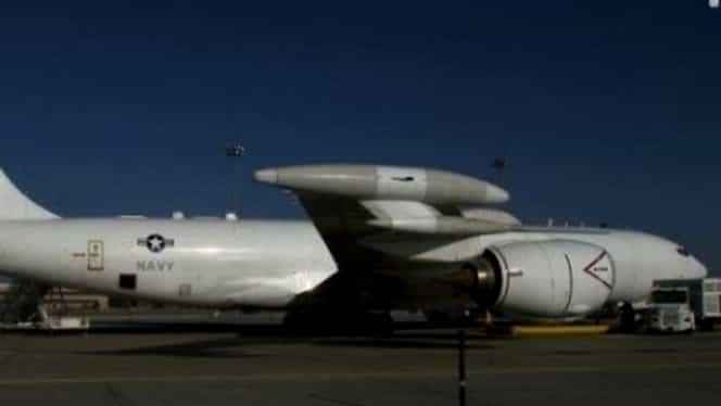 Avionul Apocalipsei! Acesta aparţine SUA şi poate lansa în câteva minute un atac nuclear!
