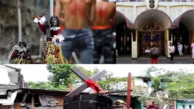 Crucificați precum Iisus Hristos, în plină pandemie. Scene greu de privit în Vinerea Patimilor la catolici – Video