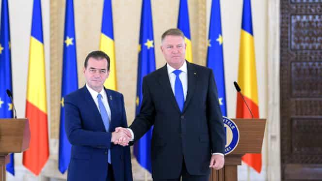 """Guvernul Ludovic Orban a depus jurământul! Klaus Iohannis a semnat decretul: """"Mă tem de ce vor găsi noii miniștri în ministere"""""""