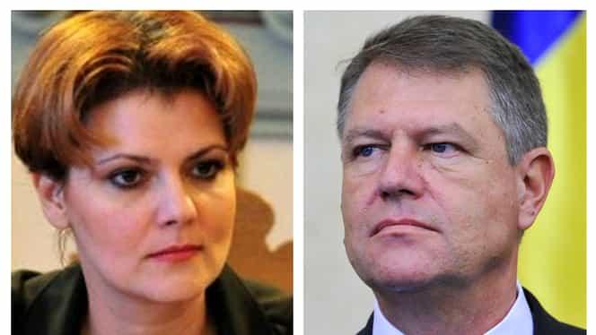 Reacția Liei Olguța Vasilescu, după ce a fost respinsă de Klaus Iohannis pentru funcția de ministru