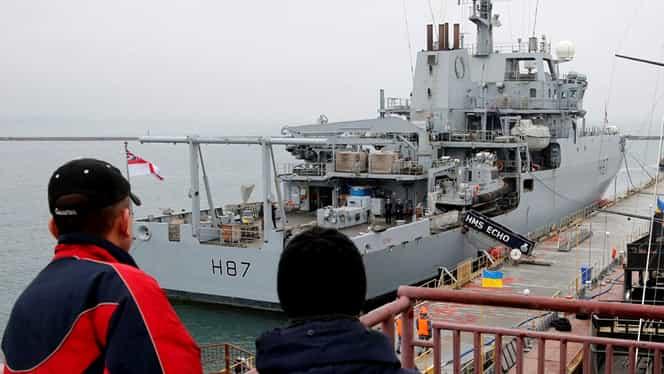 SUA au trimis o navă militară în Marea Neagră. Reacția Rusiei. VIDEO