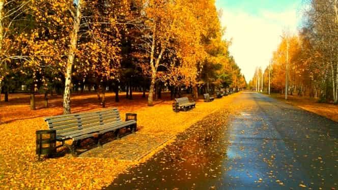 Prognoza meteo pentru weekend-ul 9-10 noiembrie. Vreme plăcută și ploi locale