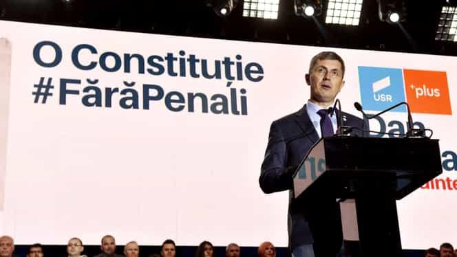 """Dan Barna negociază dur cu Ludovic Orban și Klaus Iohannis: """"Învestirea guvernului nu stă în USR"""""""