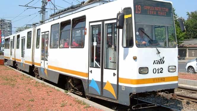 Noi linii de tramvai separate de trafic. 132 de mii de lei cheltuiți pentru 250 de metri de garduri