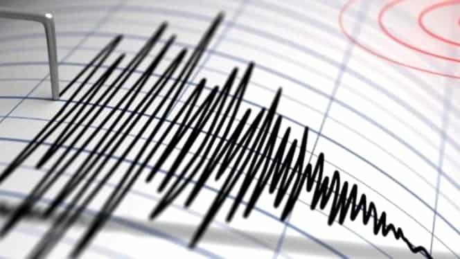 Cutremur de 4 grade pe scara Richter în Vrancea! Seismul a avut loc în apropiere de Focșani