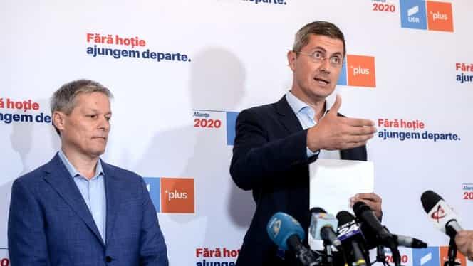 """Scandal pe axa USR – PLUS! Andrei Caramitru, mesaj ferm pentru oamenii lui Cioloș. """"Dacă sunteți curajoși demisionați de la Bruxelles să vă ocupați de partidul vostru"""""""