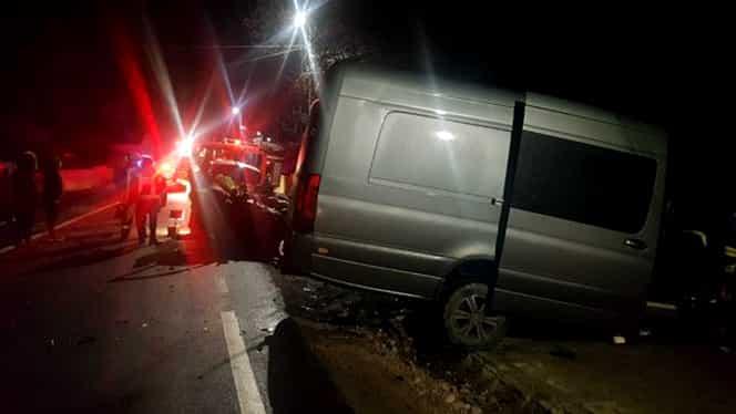 Accident înfiorător în Covasna! Doi morți și patru răniți grav după ce un șofer a intrat pe contrasens