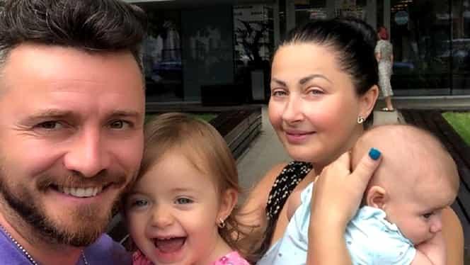 Răsfăț la botezul fetiței Gabrielei Cristea. Ce vor avea pe masă invitații