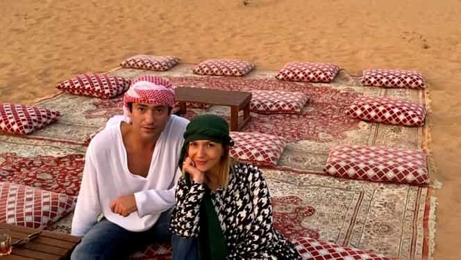 Adela Popescu și Radu Vâlcan, vacanță de vis în Dubai! Au plătit o mică avere pentru o noapte de cazare