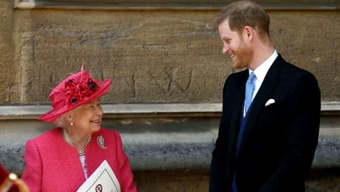 """Regina Marii Britanii îl lasă pe prințul Harry să se îndepărteze de Casa Regală! """"Sprijinim întru totul decizia lui Harry și Meghan"""""""