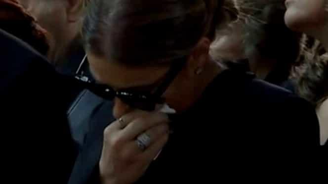 Anamaria Prodan, prima apariție publică după înmormântarea mamei sale