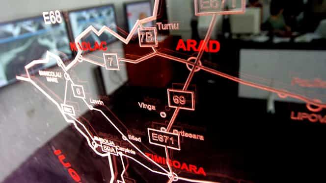 Centru Infotrafic, avertisment pentru români! Ninge ca în poveşti pe Autostrada Soarelui