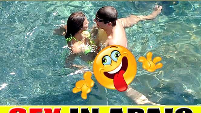 FOTO. Două SUPER VEDETE, prinse în FLAGRANT! Făceau AMOR în apă!? Imaginile, VIRALE pe net