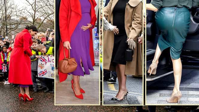 Garderoba Ducesei de Sussex, o avere! Meghan Markle a cheltuit aproape 1 milion de lire de când s-a căsătorit cu Prinţul Harry
