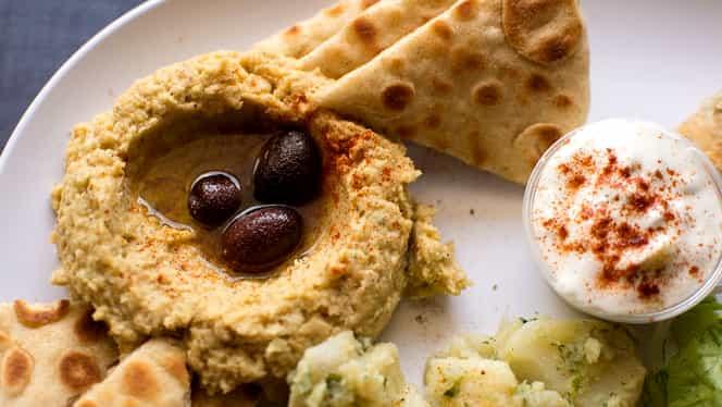 Rețeta zilei: Humus clasic libanez. Delicios și super-sănătos!