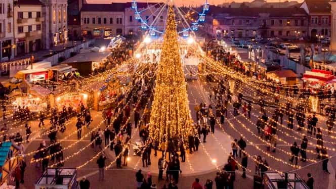 Top 6 cele mai frumoase târguri de Crăciun din România. Sibiul, cel mai căutat și anul acesta