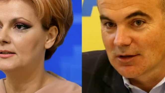 """Lia Olguța Vasilescu și Rareș Bogdan, scandal în direct la TV: """"Vă roade rău de tot grija de PSD"""""""