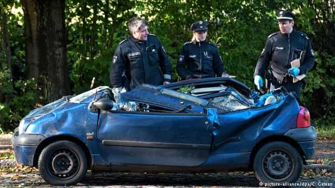 Furtuna Xavier a ucis şapte oameni în Germania! Rafalele de vânt au depăşit 130 de km/h GALERIE FOTO