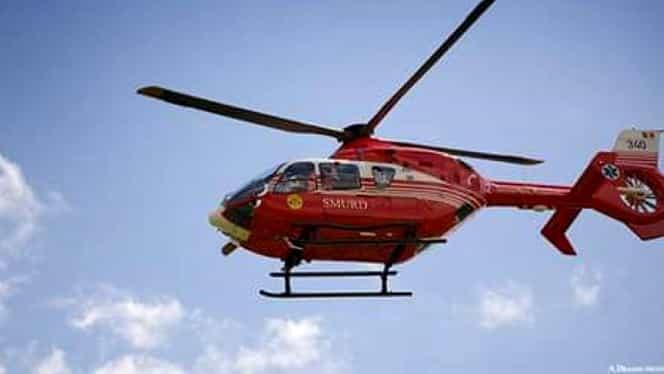 Florin Busuioc, adus cu un elicopter SMURD în București! Unde va fi internat