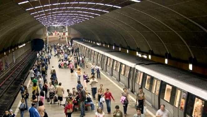 Un bărbat s-a aruncat în fața metroului, la stația Constantin Brâncoveanu. Circulația e îngreunată