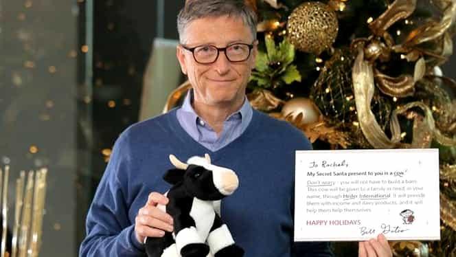 Bill Gates investeşte 40 de milioane de dolari în vaca perfectă!