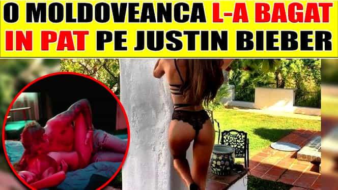 Galerie FOTO! Scene FIERBINŢI între Justin Bieber şi o tînără MOLDOVEANCĂ!
