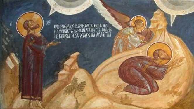 Rugăciunea din Grădina Ghetsimani, rostită de Iisus în Joia Mare. Cea mai puternică rugă a Mântuitorului