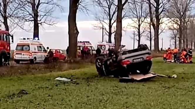 Un polițist a murit într-un grav accident rutier produs în dimineața de Crăciun. Avea doar 25 de ani