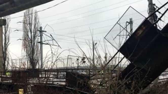 Trafic feroviar blocat în Ploieşti Vest! S-a deschis dosar penal