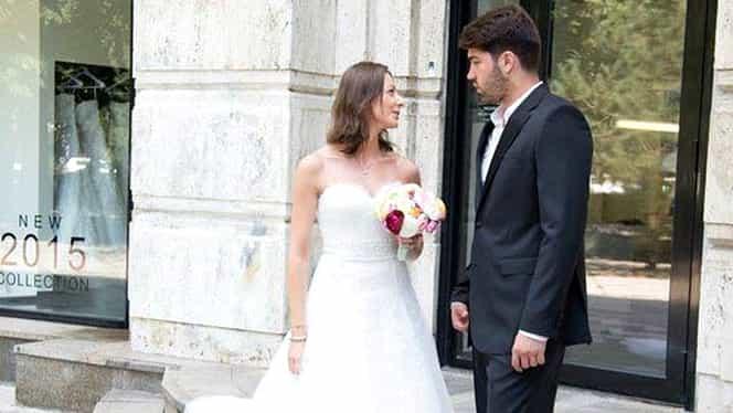 Ana Maria Brânză se pregăteşte de nuntă