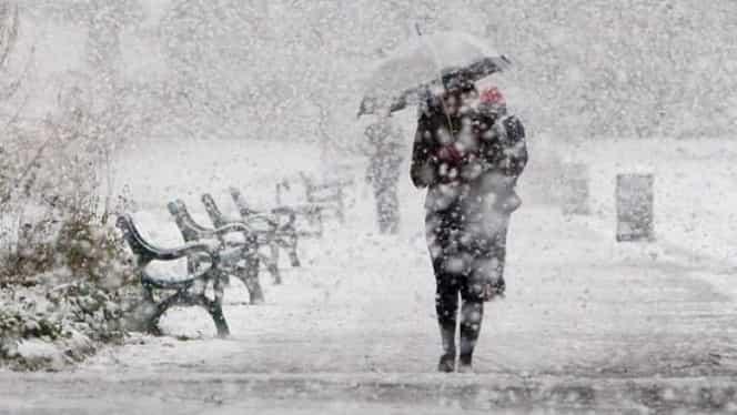 Cod galben de ninsori și frig! Peste jumătate de țară, afectată de avertizarea ANM