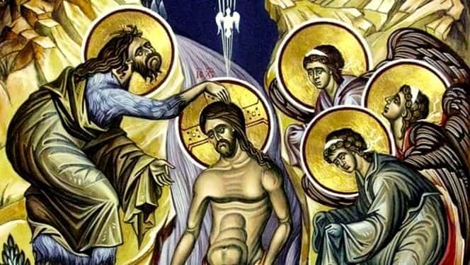 Calendar ortodox 6 ianuarie: Arătarea Mântuitorului Iisus Hristos (Boboteaza)