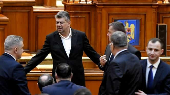 Ce șanse are să treacă moțiunea de cenzură depusă de PSD împotriva Guvernului. Ciolacu se declară optimist