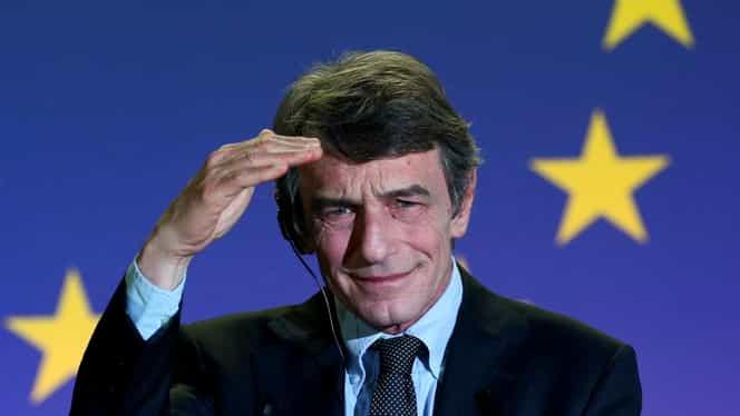 """Președintele Parlamentului European a intrat în carantină voluntară. Sassoli: """"Niciun virus nu poate bloca democrația"""""""