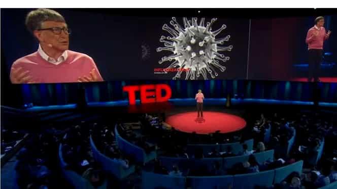 VIDEO. Cum a devenit viral un fake news cu Bill Gates, ca fiind creatorul coronavirus. Americanul a arătat în 2015 un patent foarte asemănător cu COVID-19, pe post de vaccin