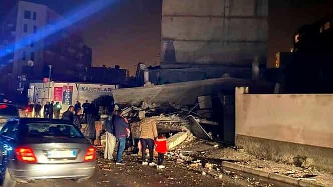 UPDATE. Cutremur cu magnitudinea de 6,4 în Albania. Cel puțin 40 de morți și peste 650 de răniți. Mai multe clădiri, distruse.