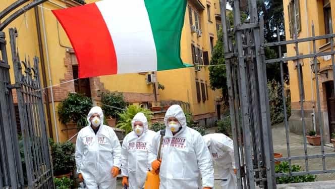 Italia, prima ţară din lume care ajunge la 10.000 de decese din cauza coronavirusului! În ultimele 24 de ore s-au înregistrat 889 de morţi
