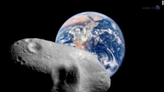 Anunț de la NASA! Un asteroid cât două avioane Boeing trece azi foarte aproape de Pământ