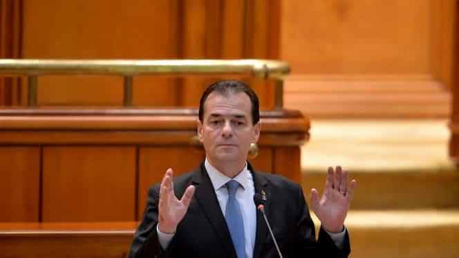 Guvernul Orban, în Parlament! Liberalii își asumă răspunderea pe buget şi modificarea Ordonanţei 114