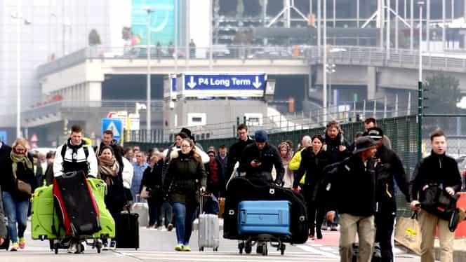 Grevă în Belgia: cursele WizzAir, Ryanair, Blue Air și altele spre și dinspre Bruxelles, anulate