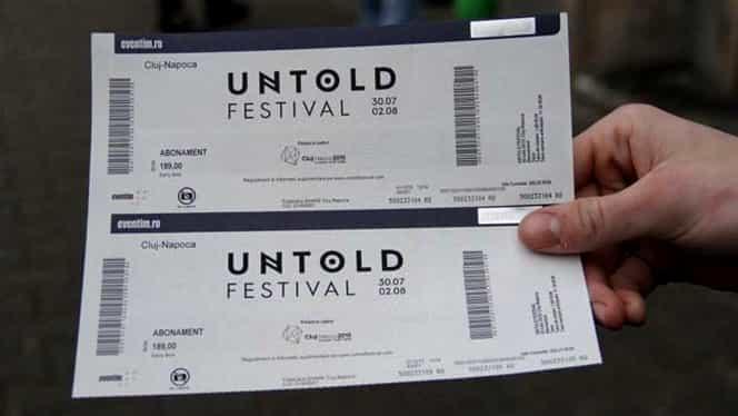 Un prahovean s-a îmbogățit vânzând bilete false la Untold și Neversea. A înșelat zeci de tineri