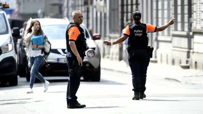 Atac cu cuțitul în Belgia! Sunt două victime. Polițiștii l-au împușcat pe agresor