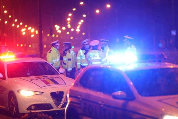 Prima noapte de restricții! Poliție