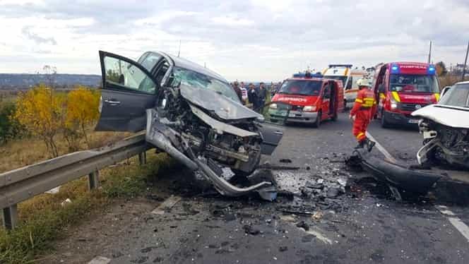 Accident rutier grav în Suceava. Șase victime, printre care și doi copii